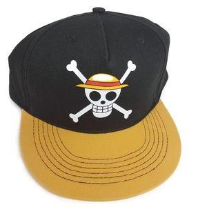 3eba9645ef1 NWT One Piece Luffy s Pirate Flag Headwear Anime